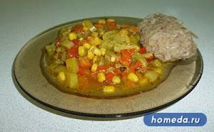 Рецепт Кукуруза по Болгарски